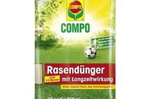 Compo Rasendünger mit Langzeitwirkung Test