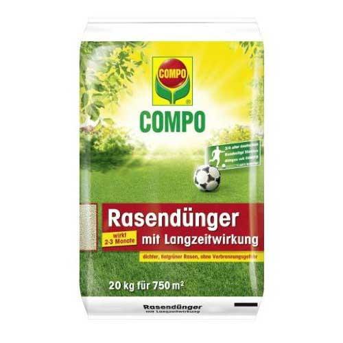 Photo of Compo Rasendünger mit Langzeitwirkung Test