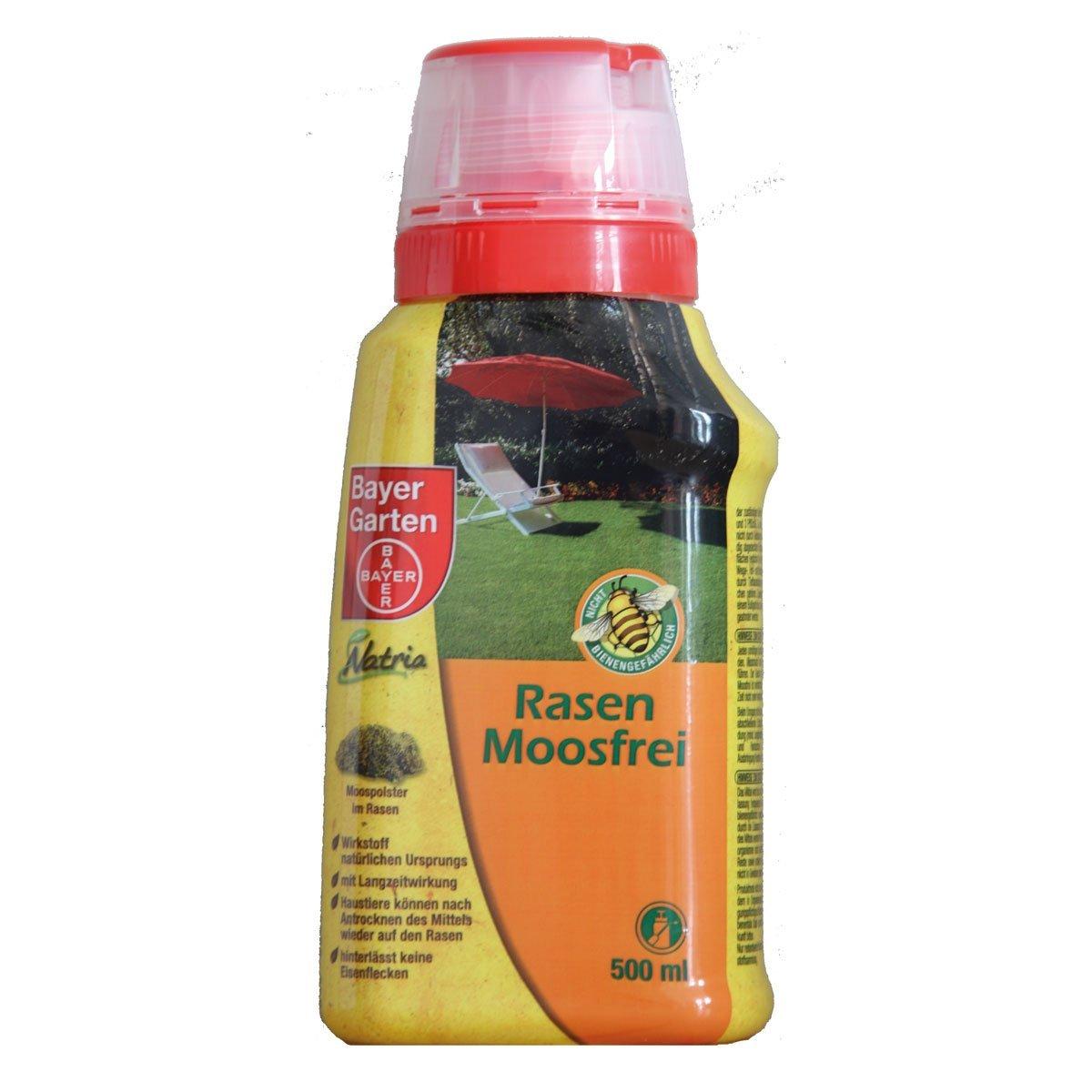 Bayer Rasen Moosfrei Anwendung