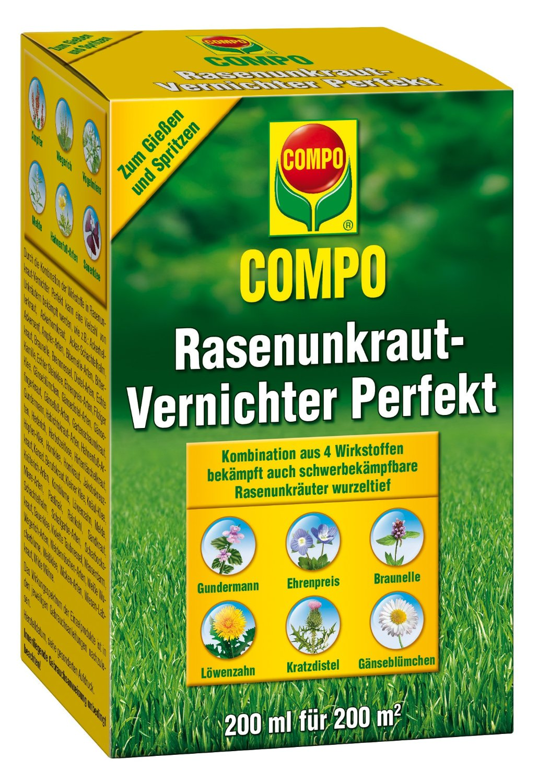 Compo-25389 Test Rasenunkraut-Vernichter Perfekt