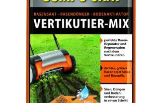 Compo Rasenpflege Saat-Vertikutier-Mix Test