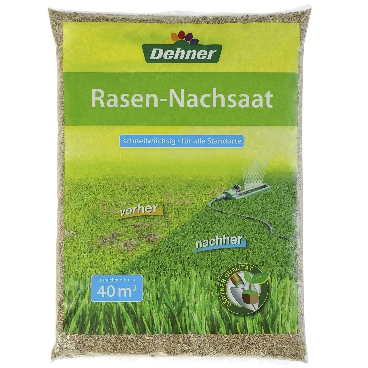 Photo of Dehner Rasen-Nachsaat Test