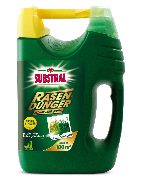 Substral Rasendünger Schneller Grün Test