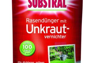 Substral Rasendünger mit Unkrautvernichter Test