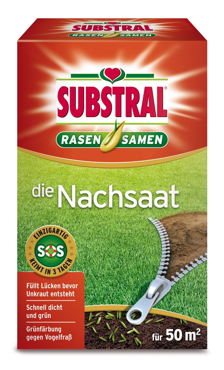 "Photo of Substral Rasensamen  ""Die Nachsaat"" Test"