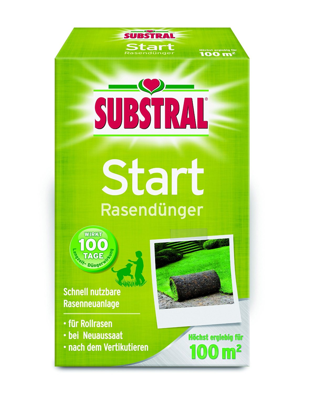 Substral-Start-Rasenduenger Test