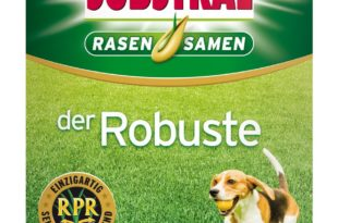 Substral der Robuste - Test der Rasensaat