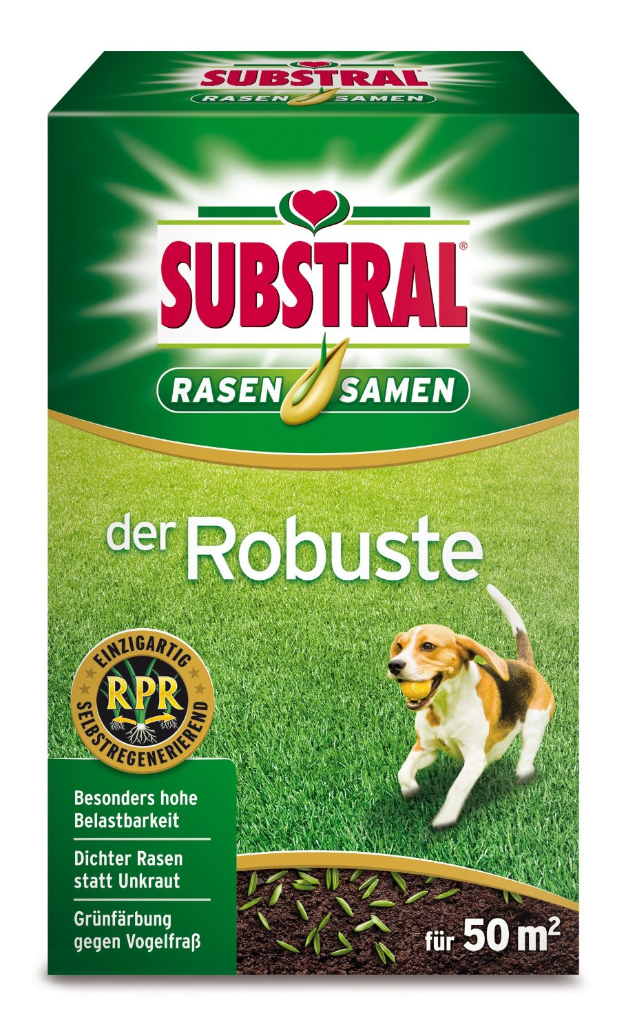 Substral der Robuste Rasensaat