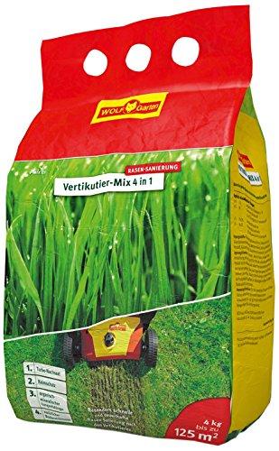 WOLF-Garten Nachsaat und Düngung Vertikutier-Mix 4-in-1