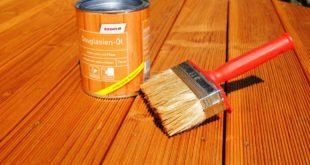 Terrassen Öl - Schutz und Langlebigkeit spürbar erhöhen