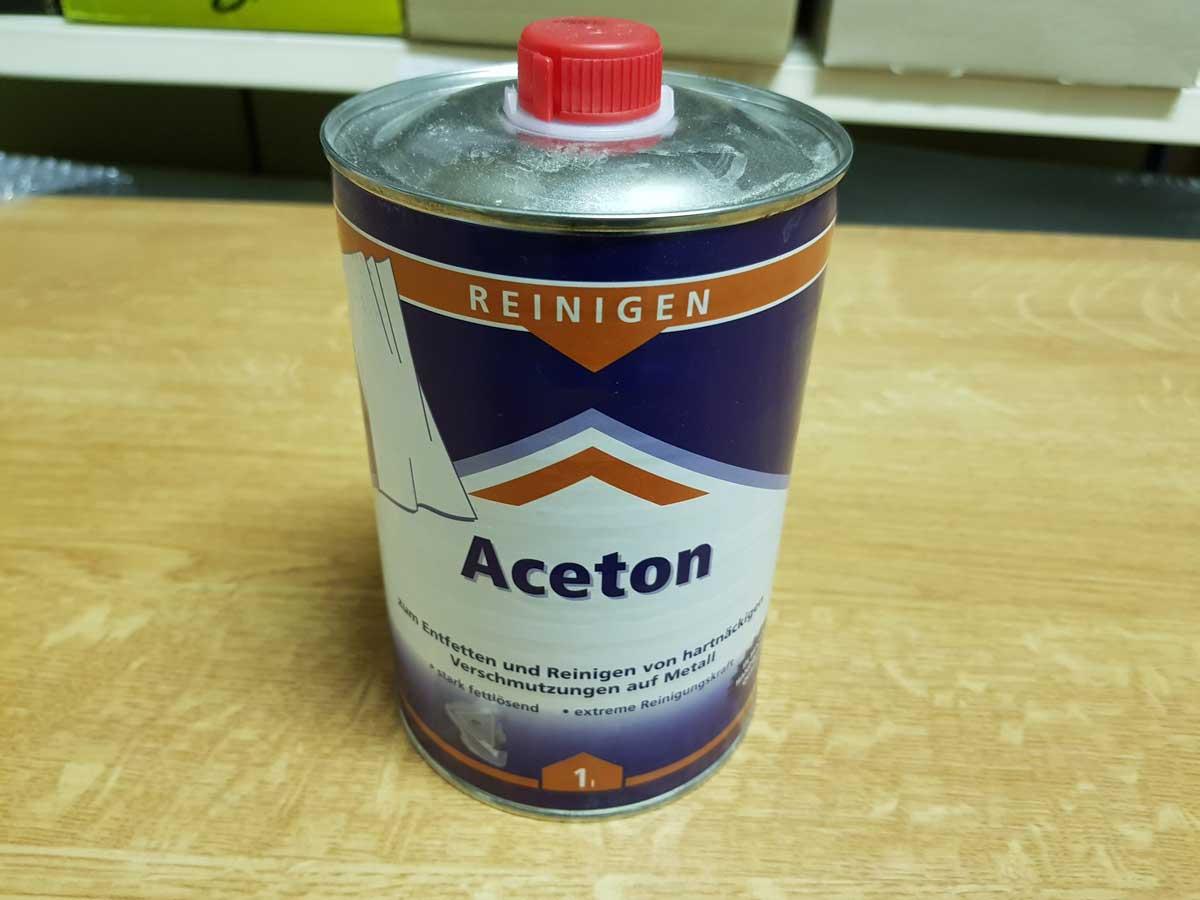 Photo of Aceton richtig anwenden