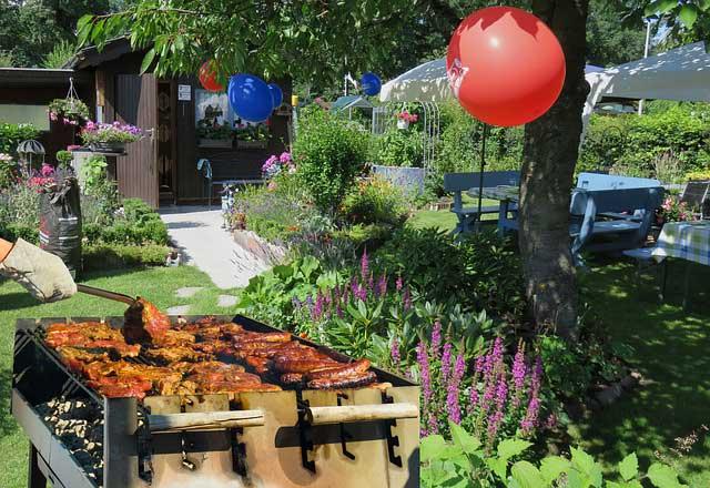 Photo of Gartenparty auch bei kühleren Temperaturen
