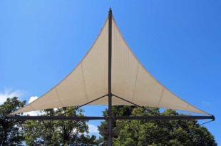 Sonnensegel befestigen – Sonnenschutz sicher anbringen