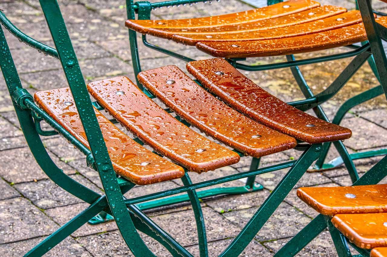 Wetterfeste Gartenmöbel stehen für Langlebigkeit