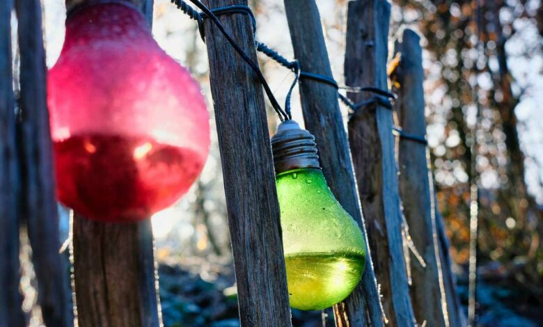 Bild von Gartenleuchten – Stimmungsvolles Licht im Garten von LED bis Solar