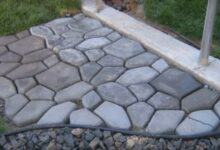 Bild von Garten mit Stil: Bruchsteinoptik für Gartenweg selber machen