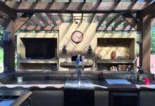 Bild von Die Outdoor-Küche – Kochen an der frischen Luft