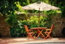 Bild von Sonnenschirmmodelle für den Garten