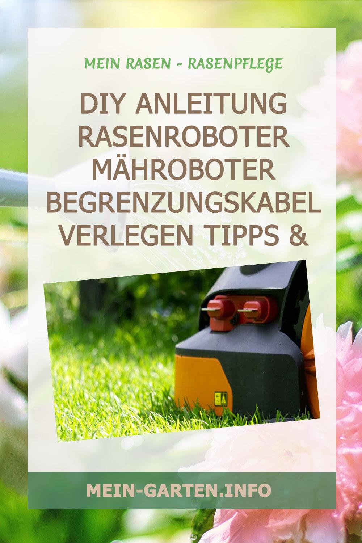 DIY Anleitung Rasenroboter Mähroboter Begrenzungskabel verlegen Tipps & Tricks