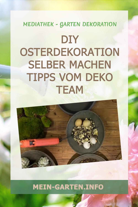 DIY Osterdekoration selber machen Tipps vom Deko Team