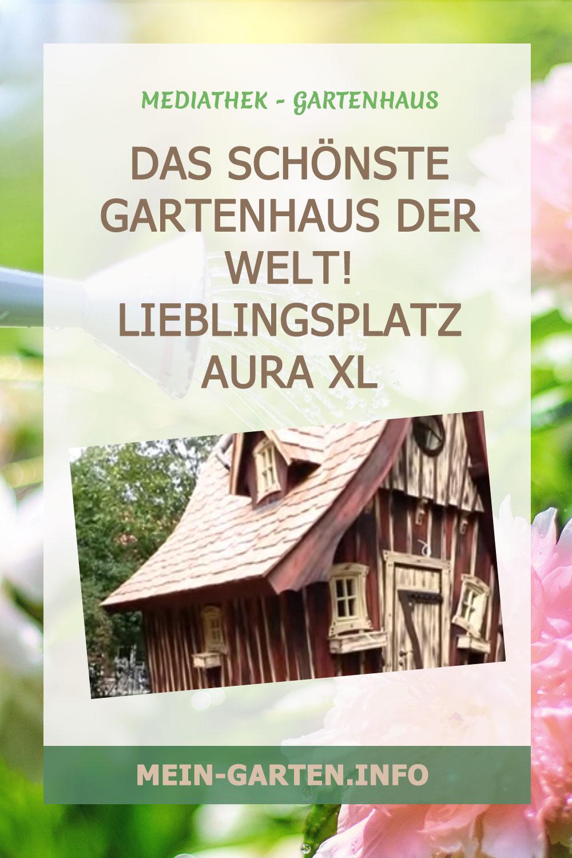 Das schönste Gartenhaus der Welt! Lieblingsplatz Aura XL