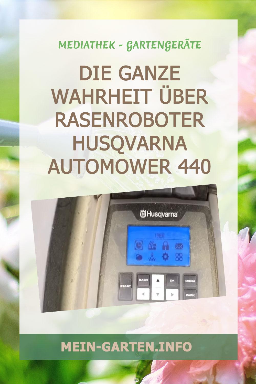 Die ganze Wahrheit über Rasenroboter Husqvarna Automower 440 Review