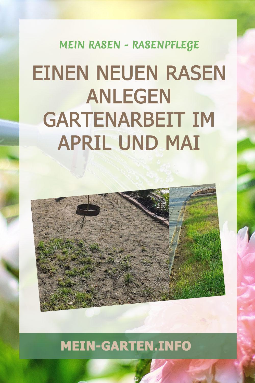 Einen neuen Rasen anlegen – Gartenarbeit April & Mai