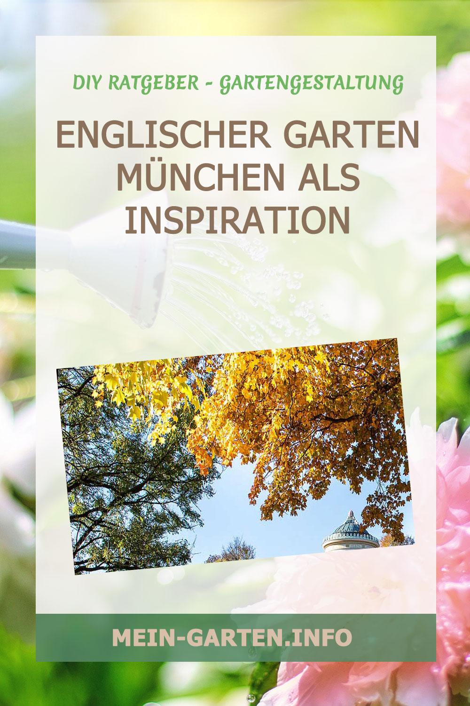 Englischer Garten München als Inspiration