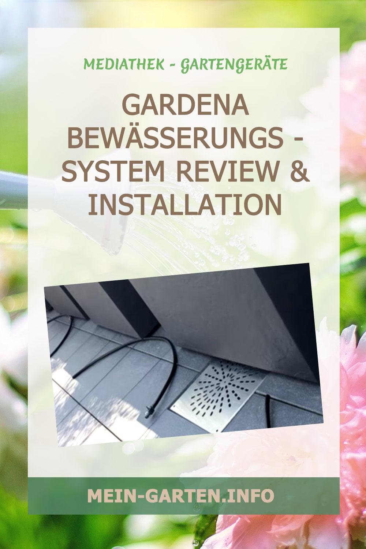 GARDENA Bewässerungs - system Review & Installation