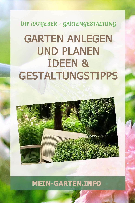 Garten anlegen und planen        Ideen & Gestaltungstipps