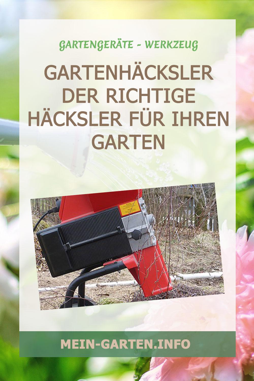 Gartenhäcksler Der richtige Häcksler für Ihren Garten