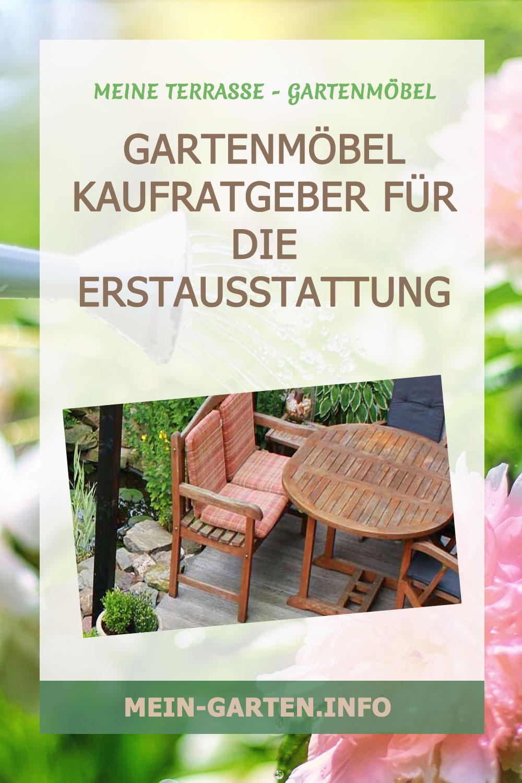 Gartenmöbel Kaufratgeber für die Erstausstattung