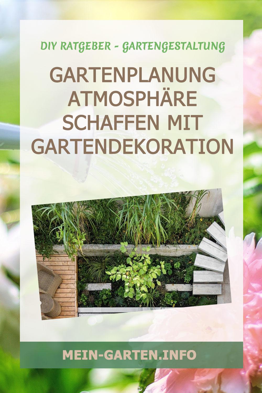 Gartenplanung Atmosphäre schaffen mit Gartendekoration