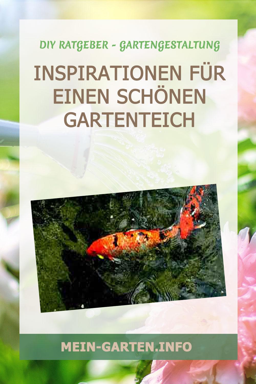 Inspirationen für einen schönen Gartenteich