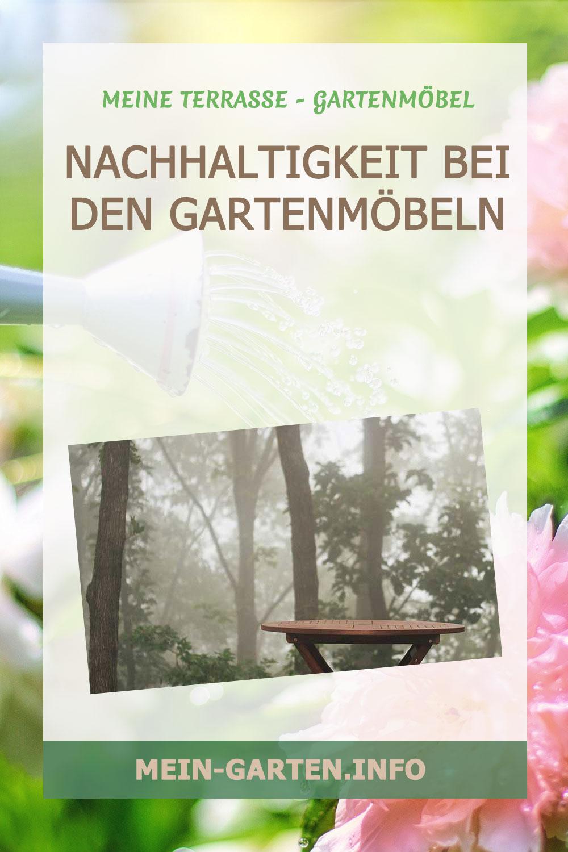 Nachhaltigkeit bei den Gartenmöbeln