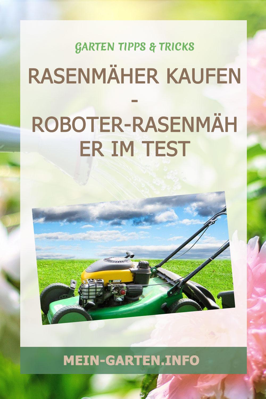 Rasenmäher kaufen - Roboter-rasenmäher im Test