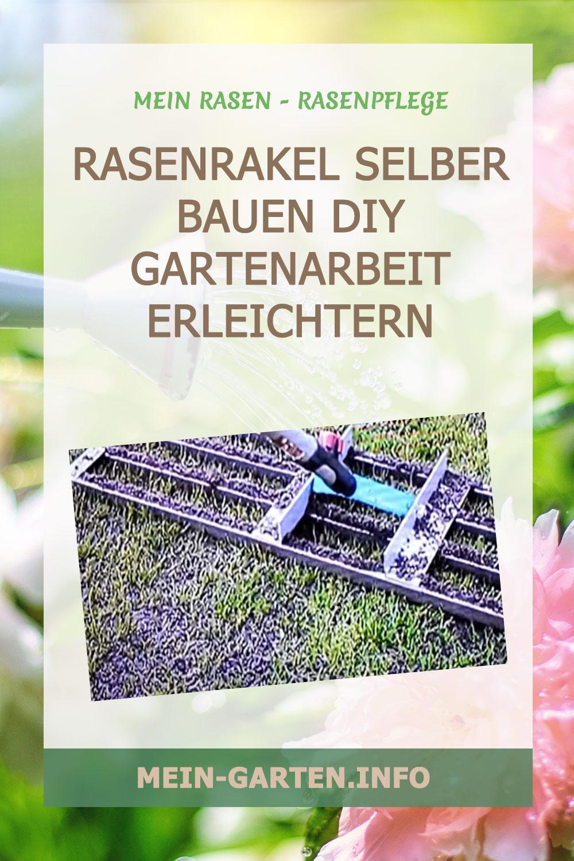 Rasenrakel selber bauen DIY – Gartenarbeit erleichtern