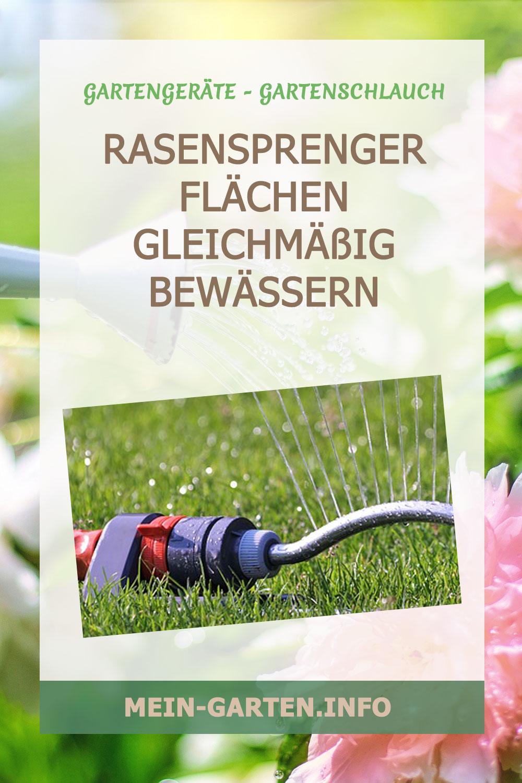 Rasensprenger – Rasen oder andere Flächen bewässern
