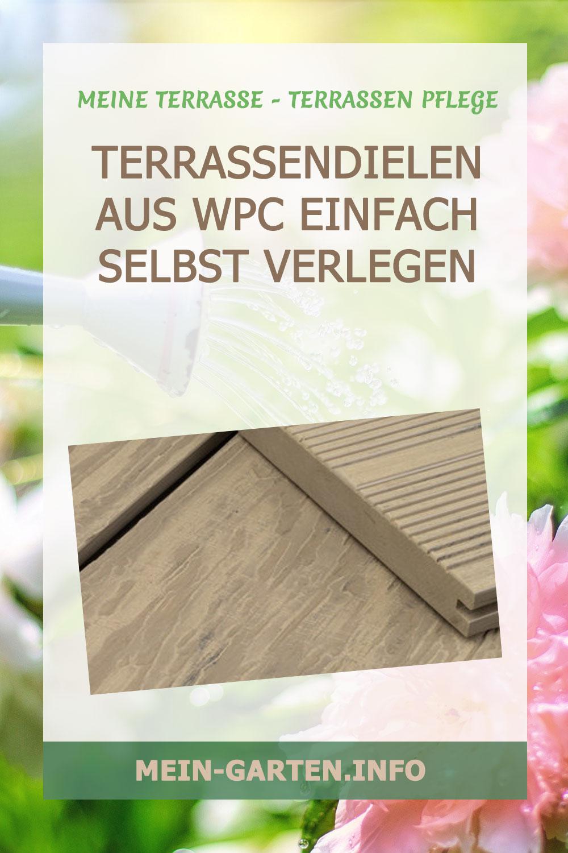 Terrassendielen aus WPC – einfach selbst verlegen