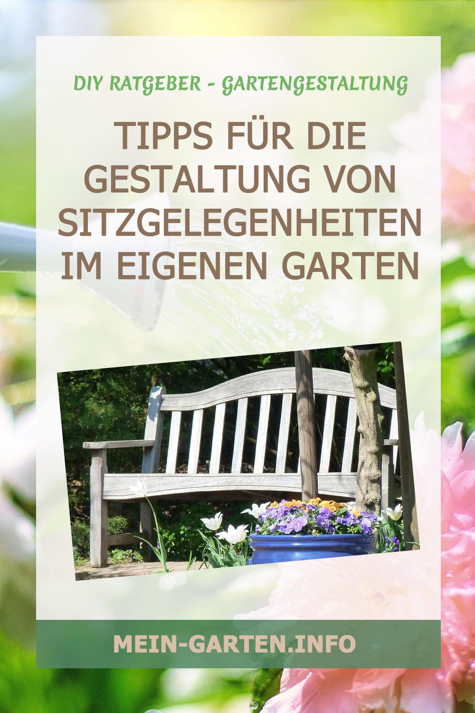 Tipps für die Gestaltung einer Sitzgelegenheit im eigenen Garten
