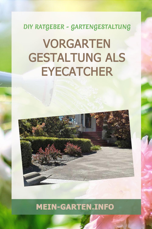 Vorgarten Gestaltung als Eyecatcher schön gestaltet