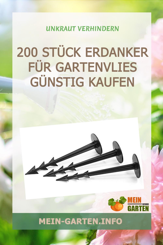 200 Stück Erdanker für Gartenvlies günstig kaufen
