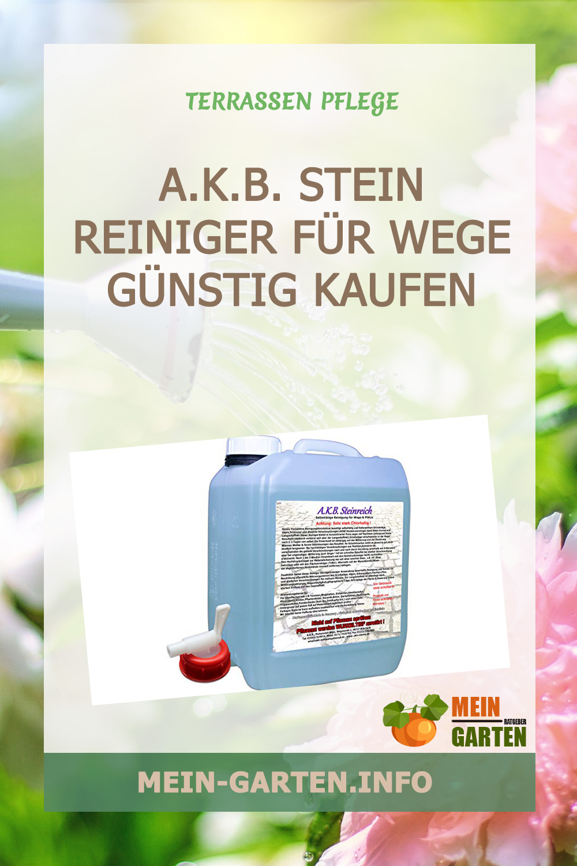 A.K.B. Stein Reiniger für Wege günstig kaufen