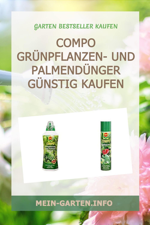 COMPO Grünpflanzen- und Palmendünger günstig kaufen