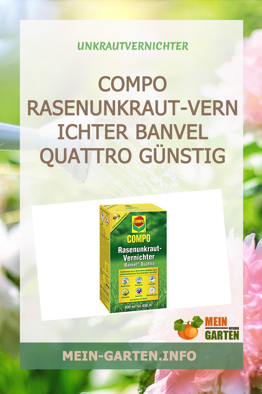 Compo Rasenunkraut-Vernichter Banvel Quattro (Nachfolger Banvel M) günstig kaufen