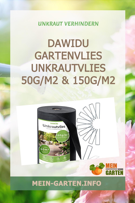 DAWIDU Gartenvlies Unkrautvlies 50g/m2 & 150g/m2 günstig kaufen