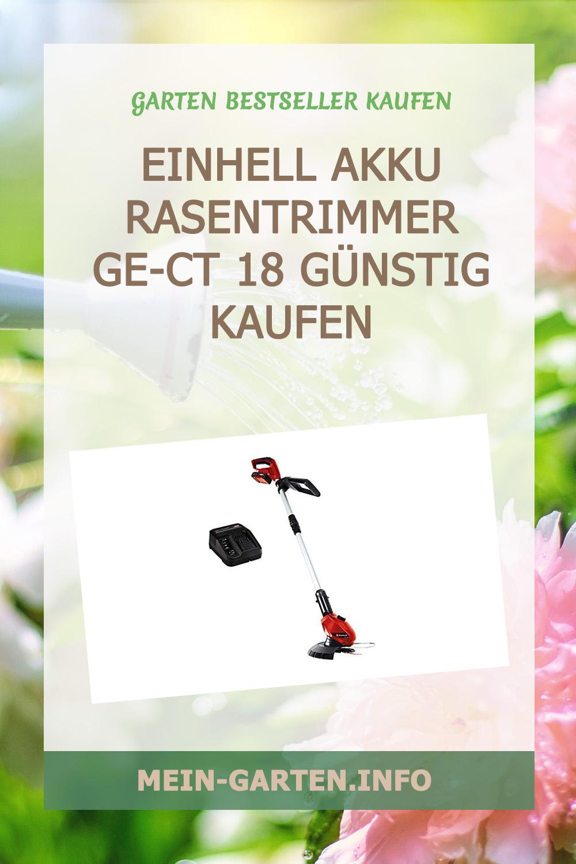 Einhell Akku Rasentrimmer GE-CT 18 günstig kaufen