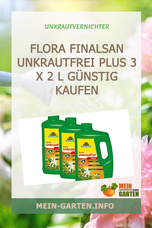 Flora Finalsan Unkrautfrei Plus 3 x 2 l günstig kaufen