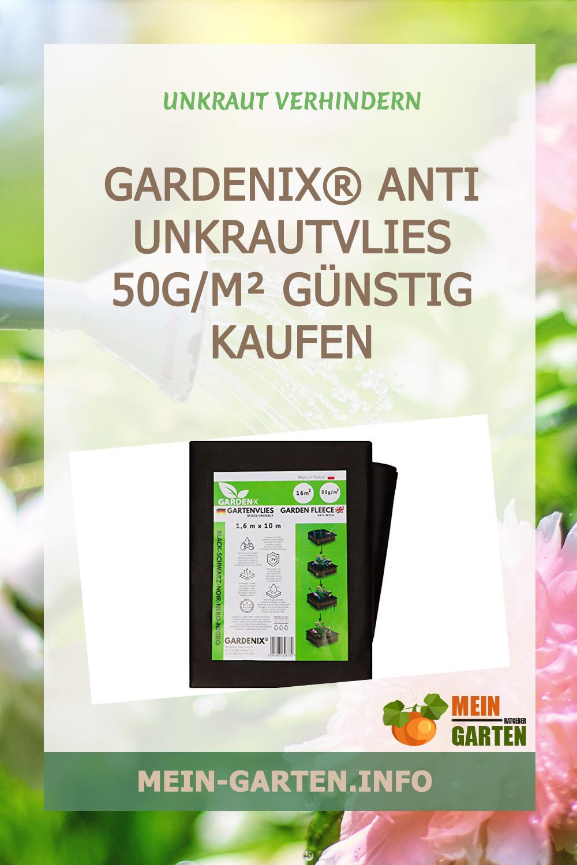 GARDENIX® Anti Unkrautvlies 50g/m² günstig kaufen