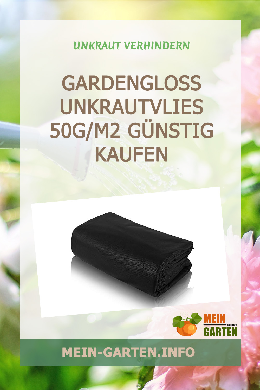 GardenGloss Unkrautvlies 50g/m2 günstig kaufen